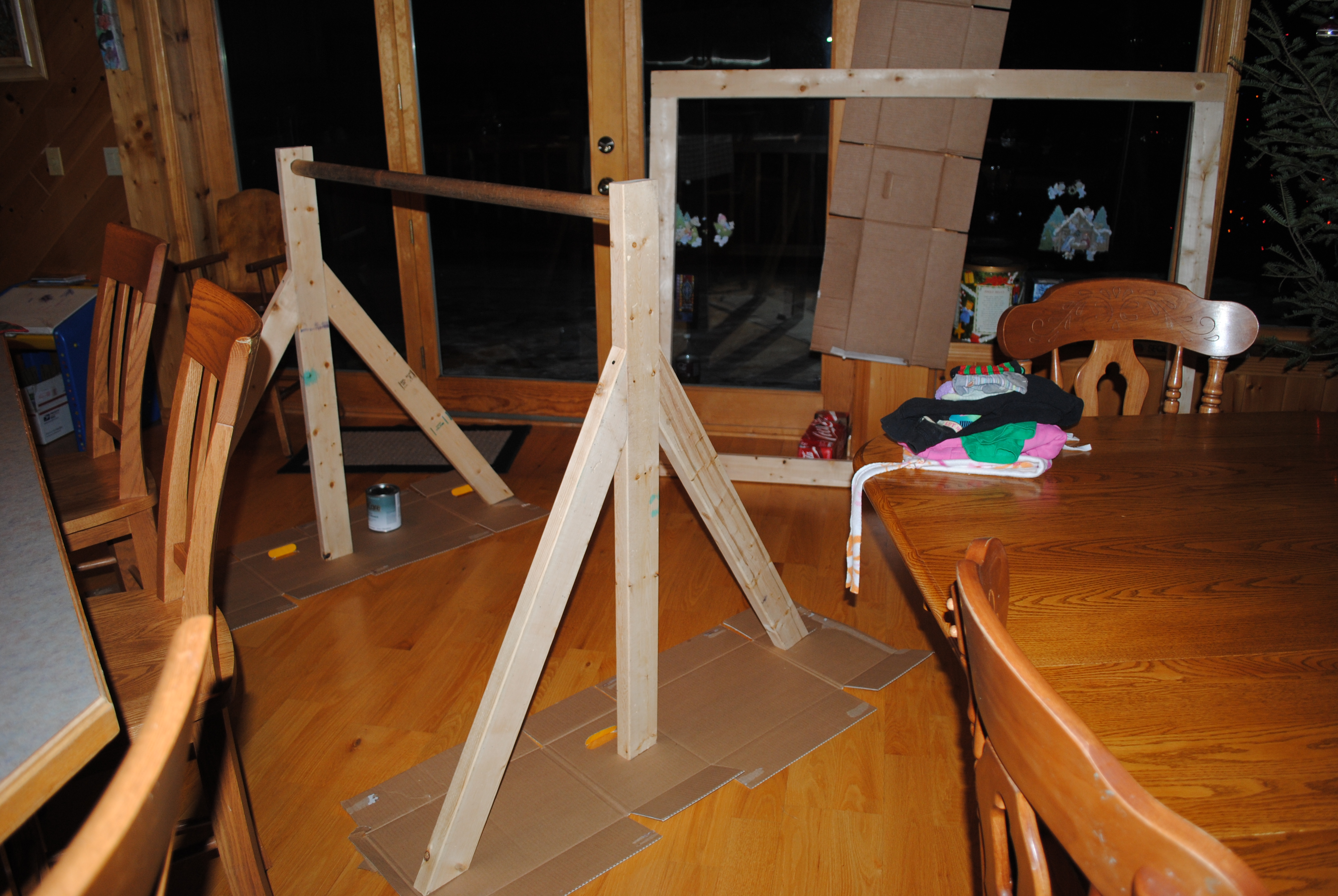 Gymnastics Bar | He Sowed She Sewed