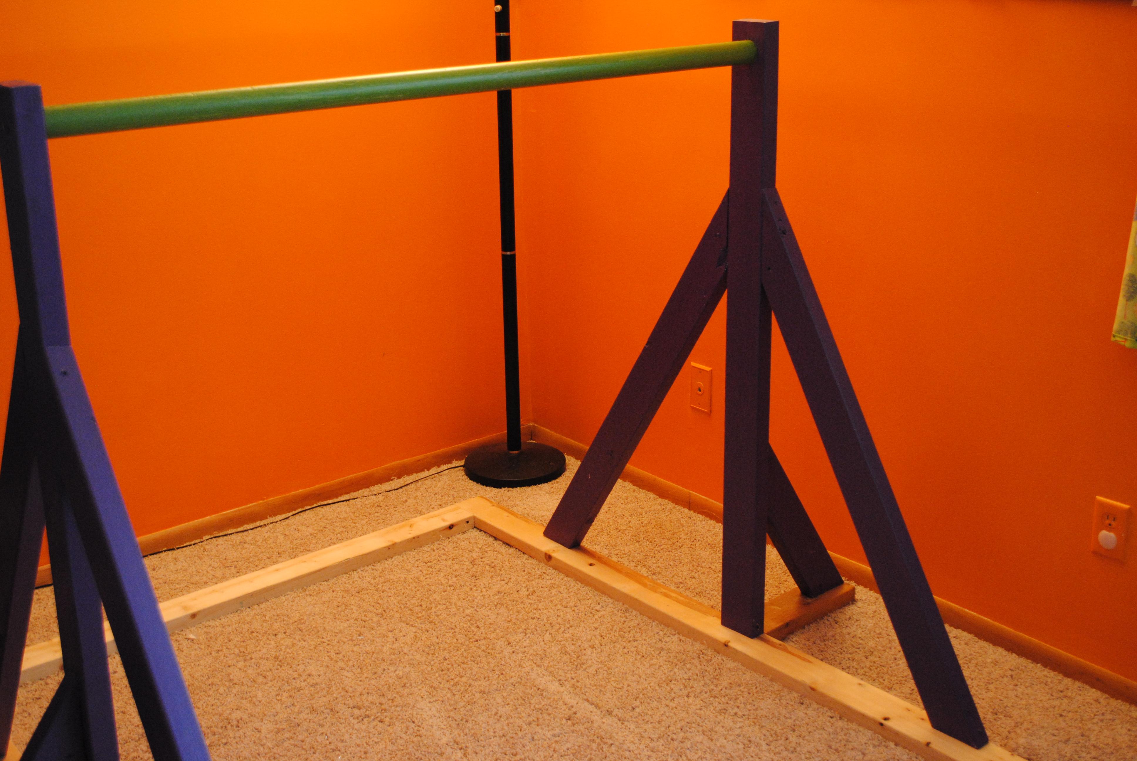 Gymnastics Bar How To He Sowed She Sewed